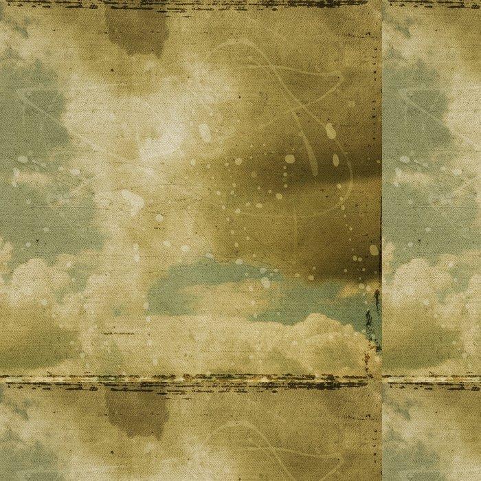 Tapeta Pixerstick Grunge oblačnosti pozadí, vinobraní papír textury - Umění a tvorba