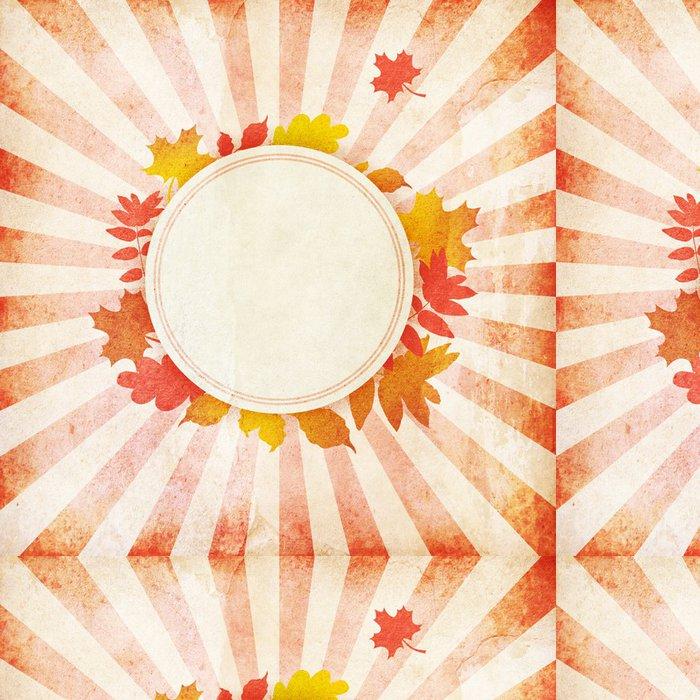 Tapeta Pixerstick Grunge podzim pozadí - Roční období