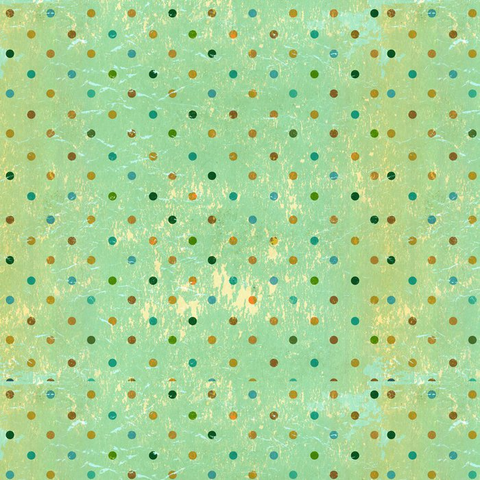 Tapeta Pixerstick Grunge pozadí s tečkami vzorem - Témata