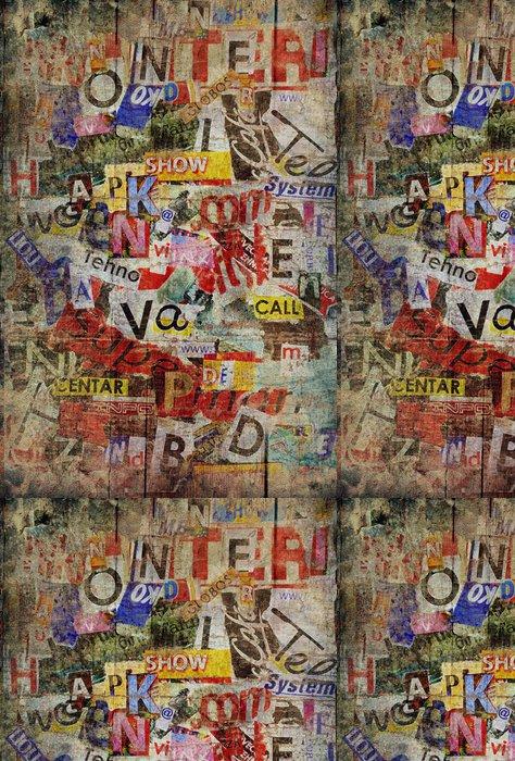 Vinylová Tapeta Grunge texturované pozadí - Témata