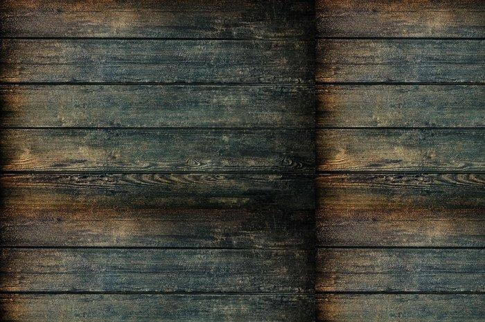 Vinylová Tapeta Grunge tmavé dřevo textury nebo pozadí lesk - Témata