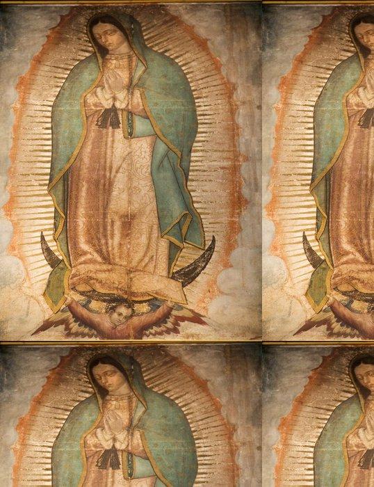 Tapeta Pixerstick Guadalupe Painting 1531 Revelation Guadalupe Shrine Mexico - Cestování