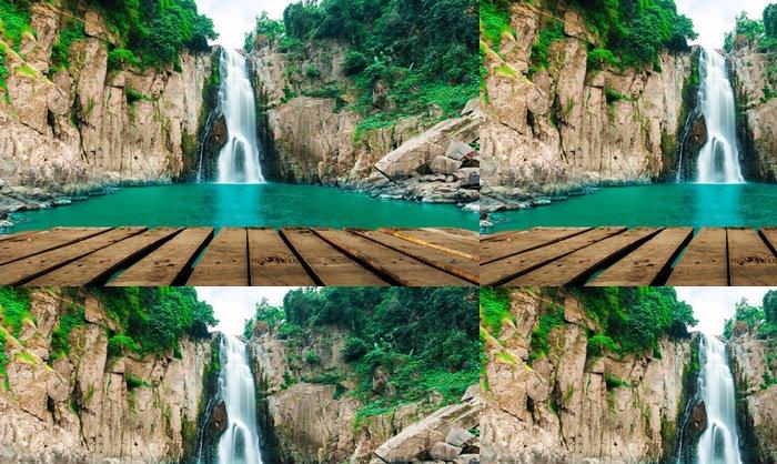 Tapeta Pixerstick Haew Narok (propast pekla) vodopád, Kao Yai national park, Tha - Voda