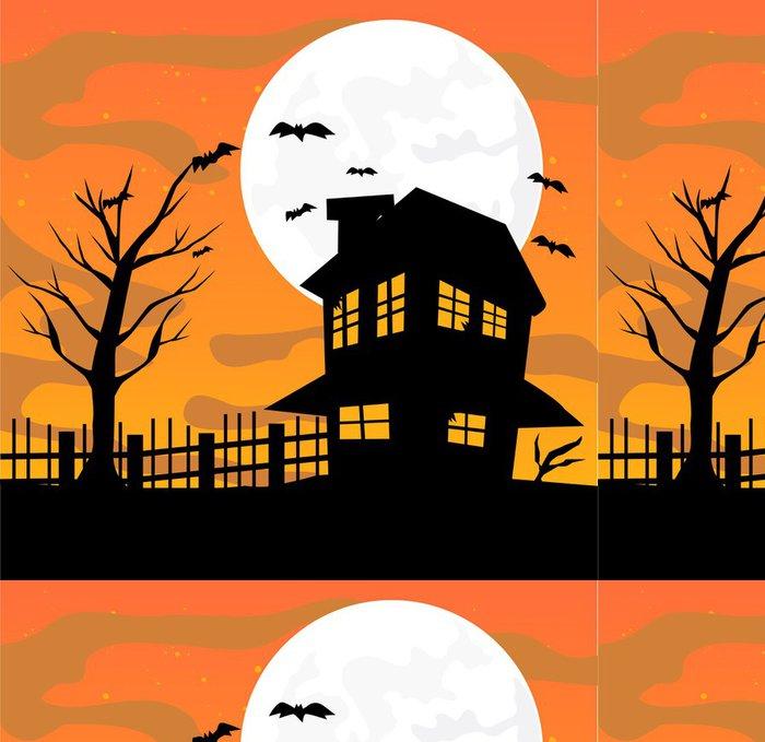 Tapeta Pixerstick Halloween provedení vektorové ilustrace - Témata