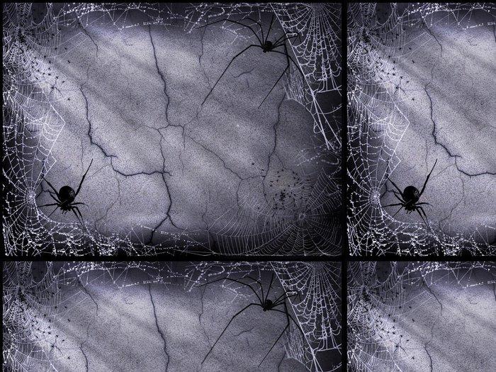 Tapeta Pixerstick Halloween Temný cihla - Pozadí