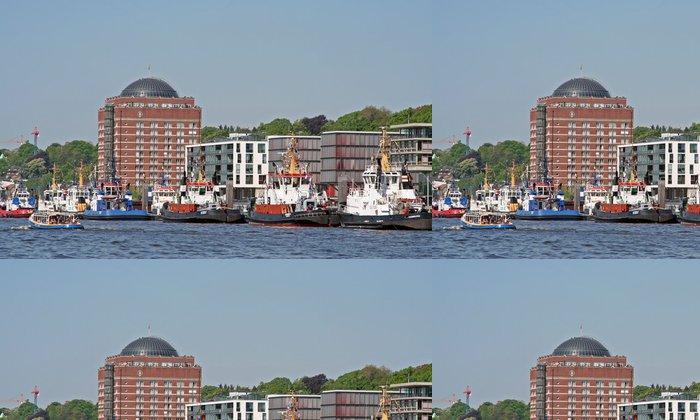 Vinylová Tapeta Hamburg Harbour Birthday - Prázdniny