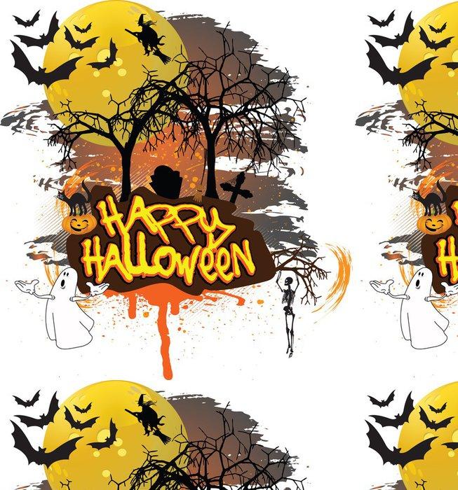 Tapeta Pixerstick Happy Halloween - Mezinárodní svátky