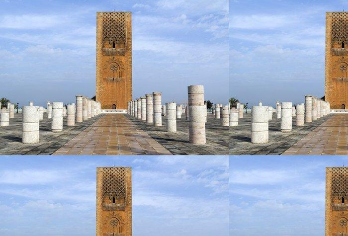 Tapeta Pixerstick Hasan věž - Afrika