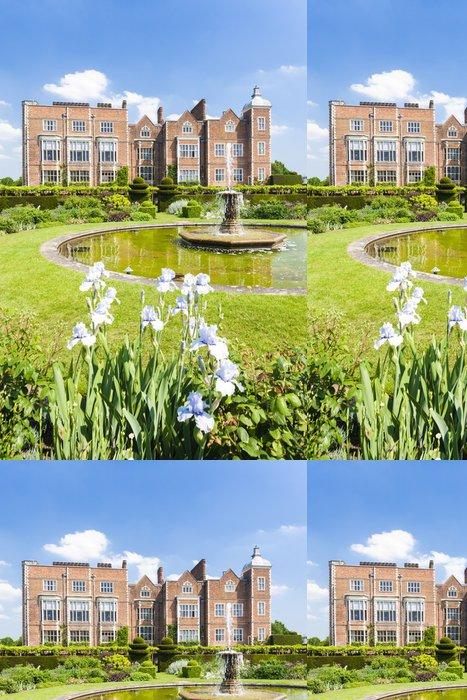 Tapeta Pixerstick Hatfield dům se zahradou, Hertfordshire, Anglie - Evropa