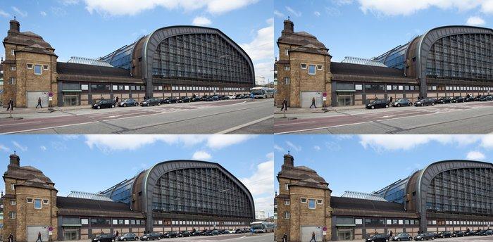 Tapeta Pixerstick Hauptbahnhof Hamburg - Infrastruktura