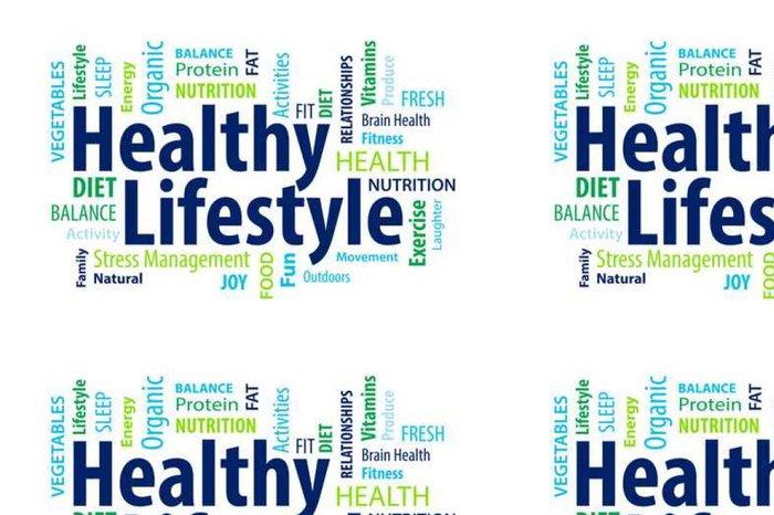 Tapeta Pixerstick Healthy lifestyle - Životní styl