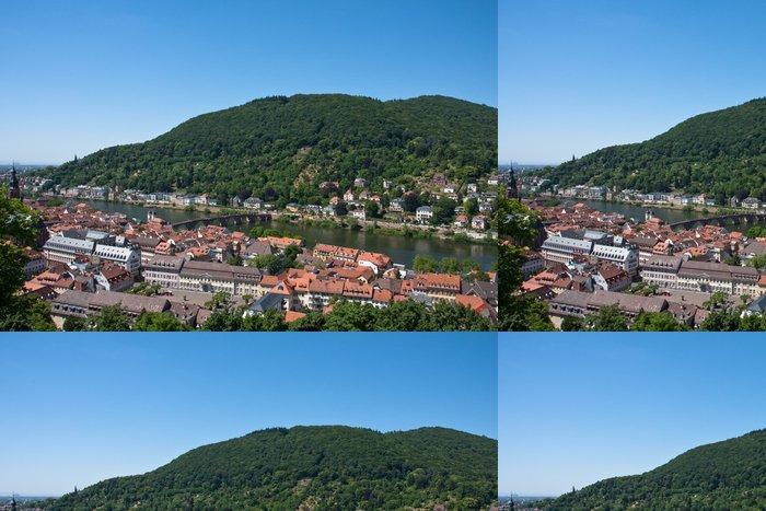 Tapeta Pixerstick Heidelberg, Německo - Evropa