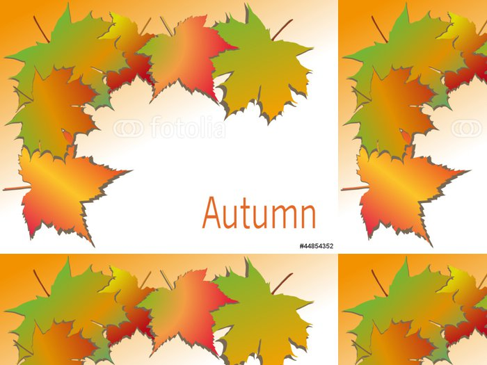 Tapeta Pixerstick Herbst - Roční období