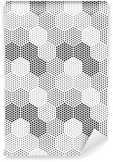 Vinylová Tapeta Hexagon Illusion Pattern