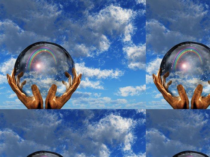 Vinylová Tapeta High Resolution Duha obloha - Značky a symboly