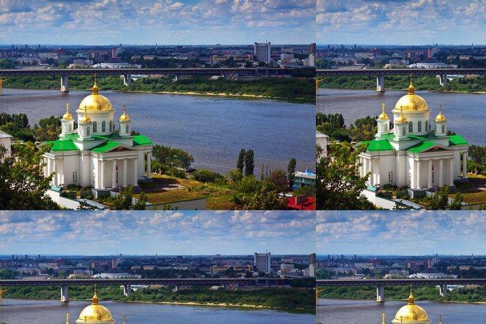 Tapeta Pixerstick Historické čtvrti Nižnij Novgorod - Asie