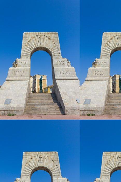 Tapeta Pixerstick Historické válka památník v Marseille, Francie - Evropa