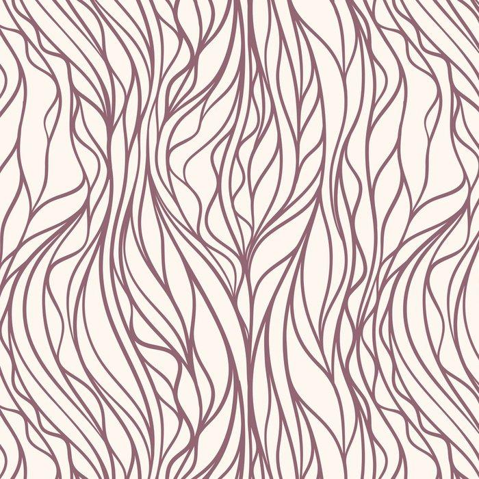 Tapeta Pixerstick Hnědý vlnitý vzor - Pozadí