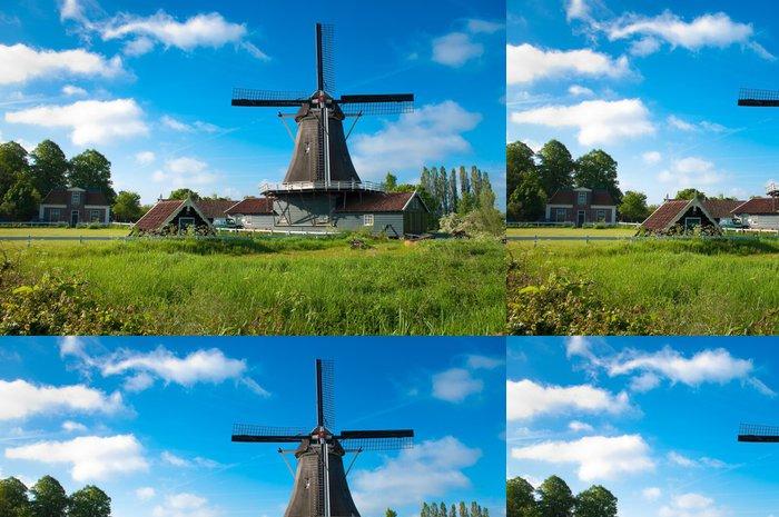 Tapeta Pixerstick Holandský mlýn - Infrastruktura