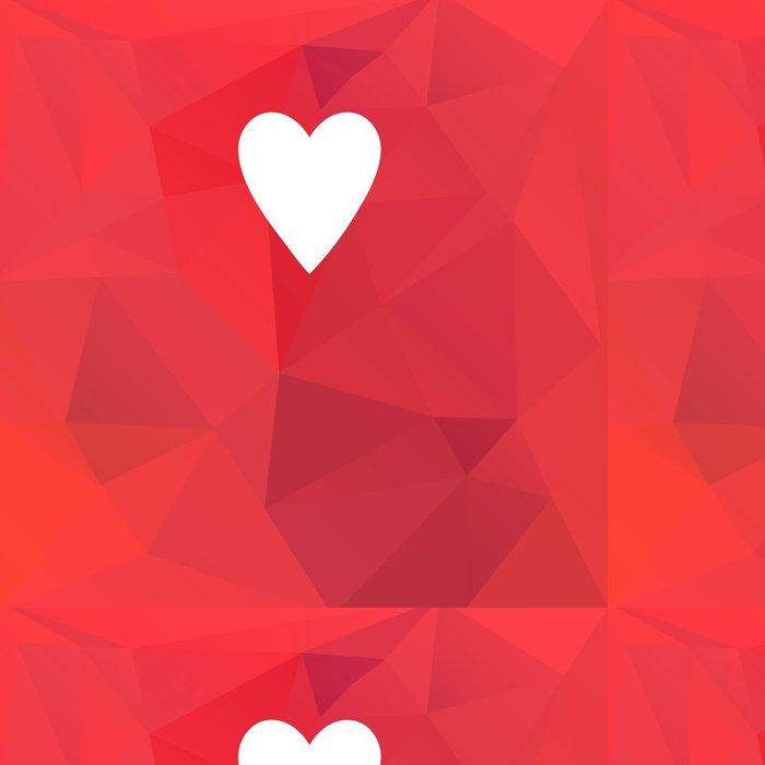 Tapeta Pixerstick Holiday karta se srdcem - Mezinárodní svátky