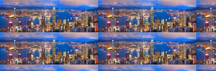 Tapeta Pixerstick Hong kong sunset panorama - Témata
