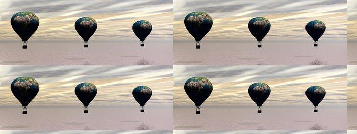 Tapeta Pixerstick Horkovzdušný balón - Nebe