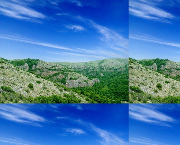 Tapeta Pixerstick Horská krajina - Prázdniny