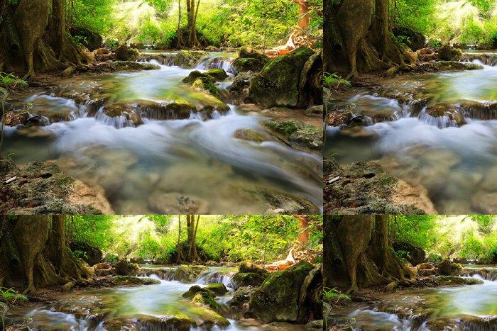 Tapeta Pixerstick Horský potok - Témata