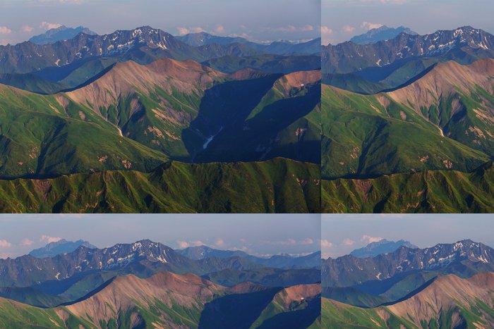 Tapeta Pixerstick Hory na Kavkaze - Příroda a divočina