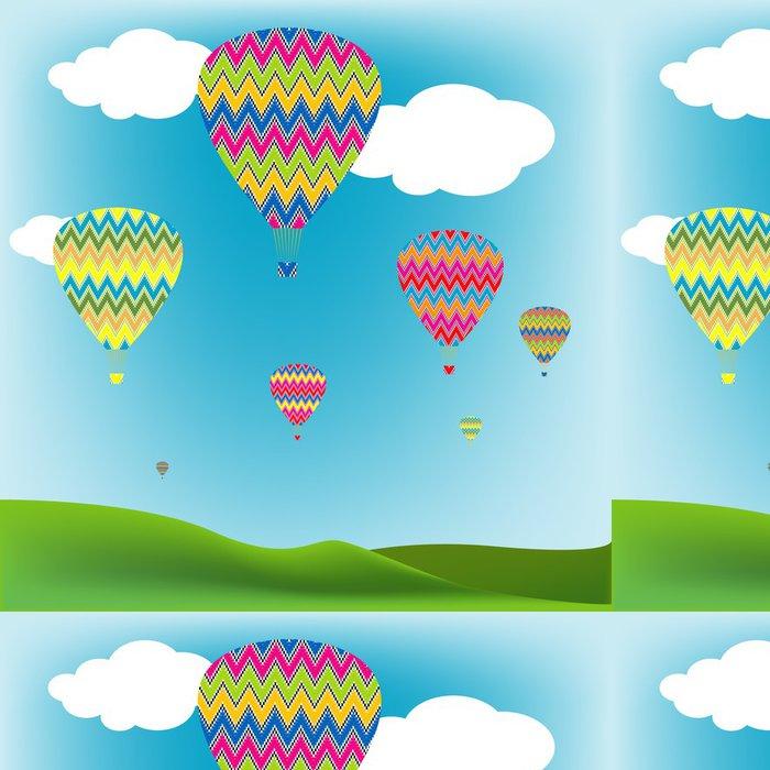 Tapeta Pixerstick Hot Air Balloons - Vzduch