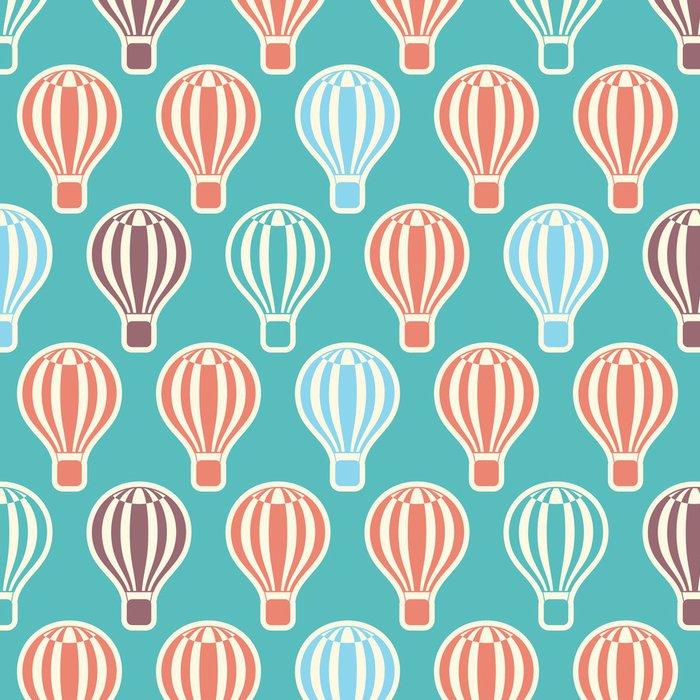 Tapeta Pixerstick Hot Air Balloons - Pozadí