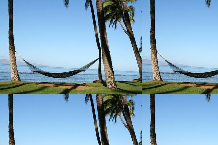 Vinylová Tapeta Houpací síť na pláži - Amerika