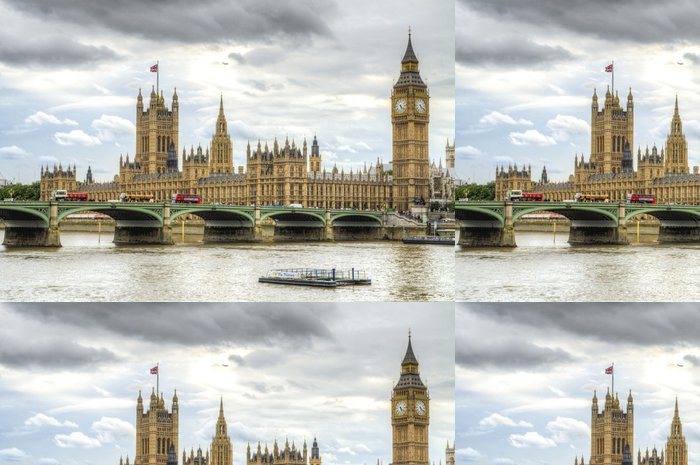 Tapeta Pixerstick Houses of Parliament, London. - Témata
