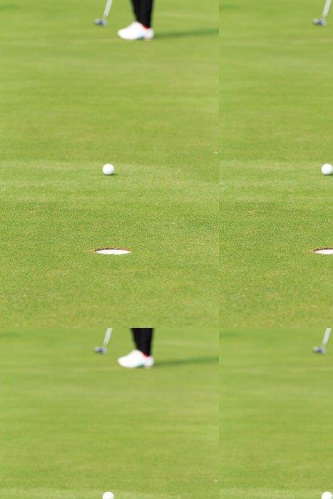 Tapeta Pixerstick Hrát golf - Individuální sporty