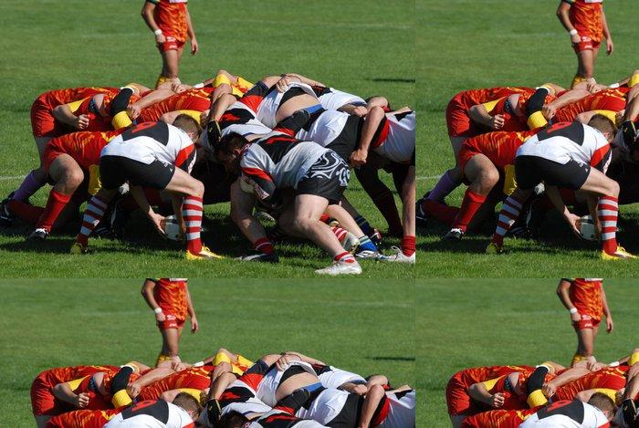 Tapeta Pixerstick Hrát rugby melee - Individuální sporty