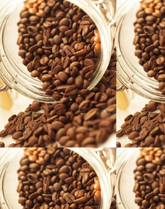 Tapeta Pixerstick Hromadu kávových zrn z jar - Témata