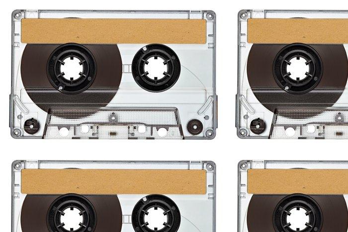 Tapeta Pixerstick Hudba magnetofonová páska vintage - Hudba