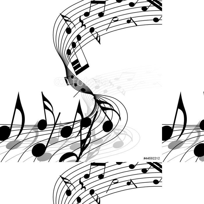 Tapeta Pixerstick Hudební - Hudba
