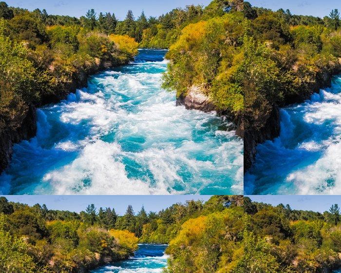 Tapeta Pixerstick Huka Falls na řece Waikato nedaleko Taupo - Témata
