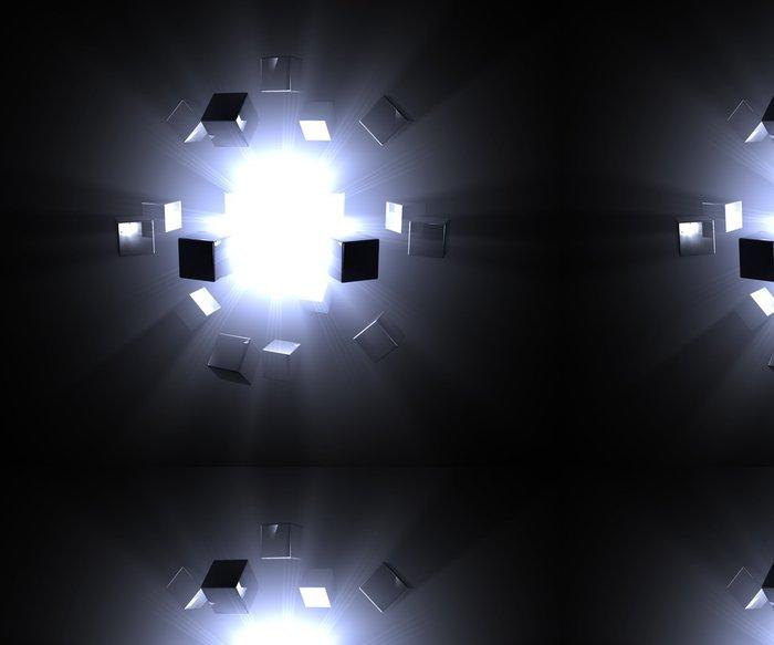 Vinylová Tapeta Hvězda - Meziplanetární prostor