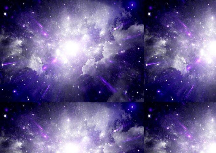 Tapeta Pixerstick Hvězdy a planety a galaxie ve volném prostoru - Náboženství