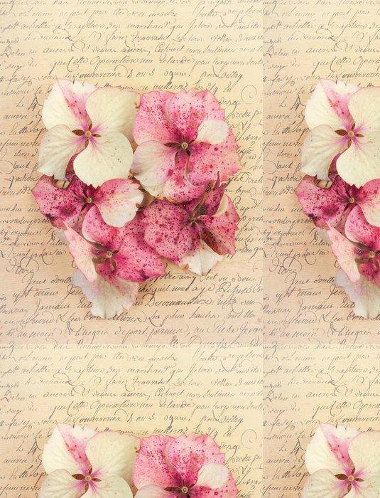 Tapeta Pixerstick Hydrangea květů -