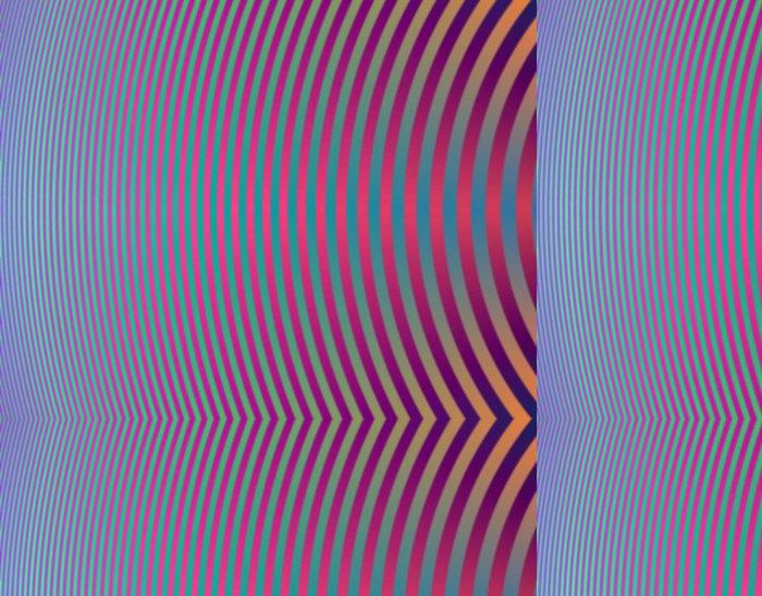 Tapeta Pixerstick Hypnotický křivky - Pozadí