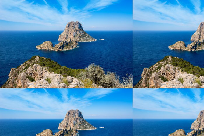 Tapeta Pixerstick Ibiza Es Vedra a Vedranell od Torre des Savinar - Evropa
