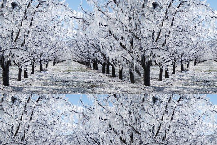 Tapeta Pixerstick Ice Palace - Příroda a divočina