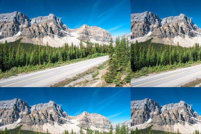 Vinylová Tapeta Icefield Parkway v národním parku Banff - Hory