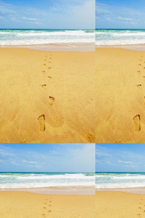 Vinylová Tapeta Idylická Beach - Voda