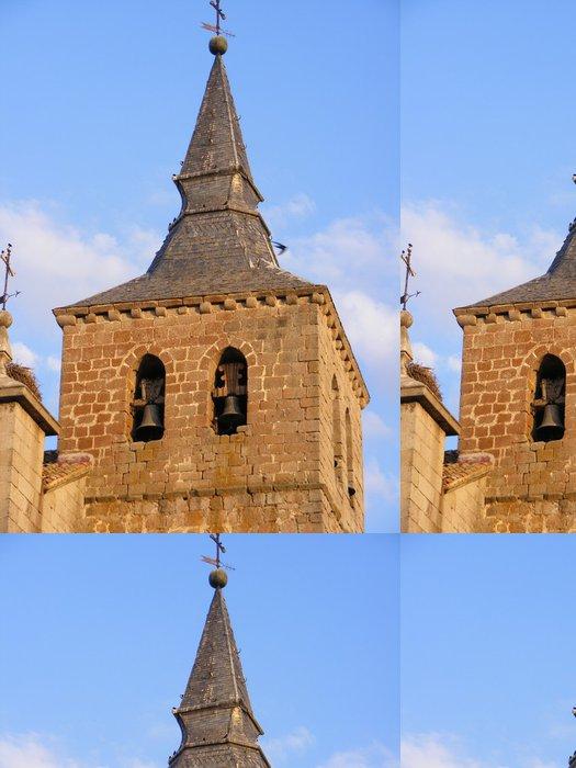 Tapeta Pixerstick Iglesia de San Eutropio (El Espinar) - Veřejné budovy
