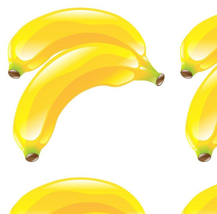 Tapeta Pixerstick Ilustrace banán ovoce ikony kliparty - Značky a symboly