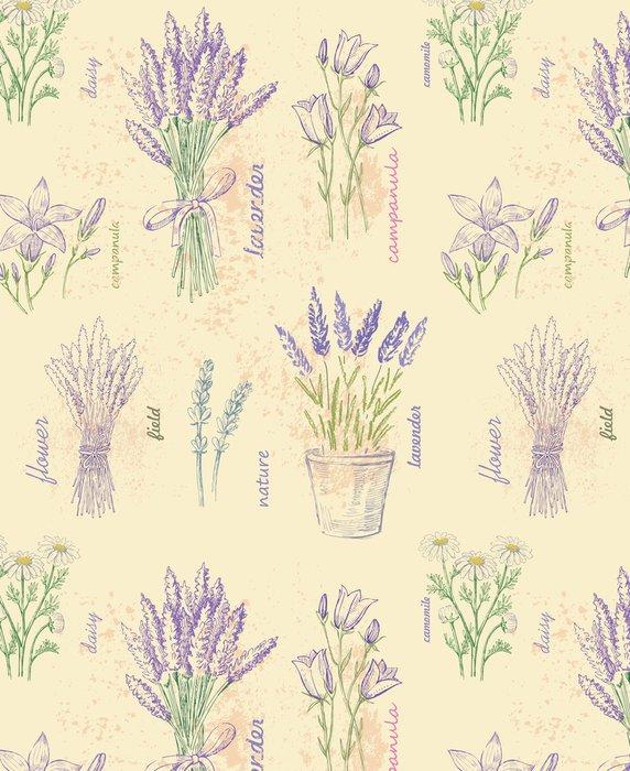 Tapeta Pixerstick Ilustrace květu -